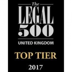 DTM Legal has been recognised by industry 'bible' The Legal 500 as a Top Tier law firm.
