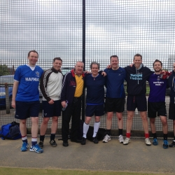 Team DTM lace up their boots for charity