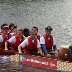 DTM Show Strong DeTerMination in Chester Dragon Boat Festival