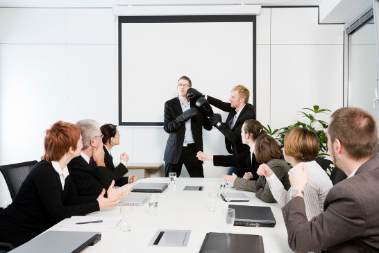 conference room fight