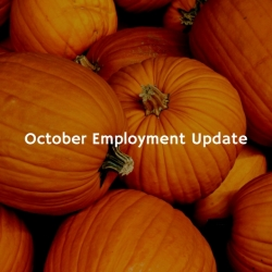 October Employment Update