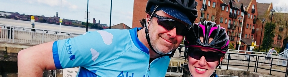 Kate Roberts charity cycle
