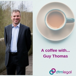 A coffee with… Guy Thomas