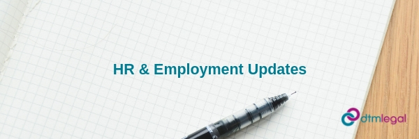 HR and Employment update