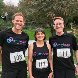 Trail Runners head to Llandegla in aid of Nightingale House Hospice